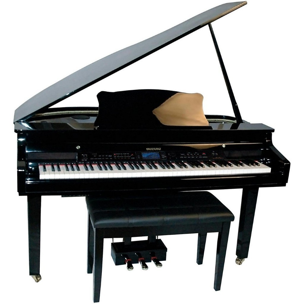 Best digital grand baby grand piano reviews pianoreport for Small grand piano